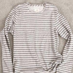 White Striped L/S